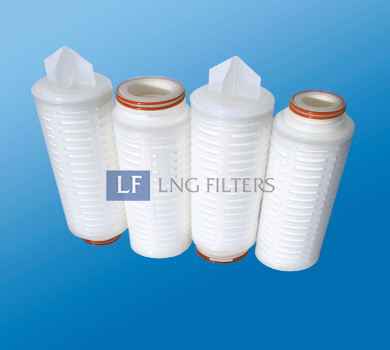 ptfe pleated filter membrane cartridges